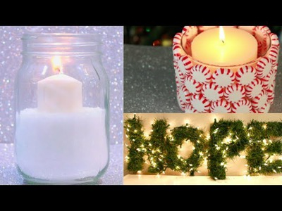$5 DIY Winter Room Decorations!