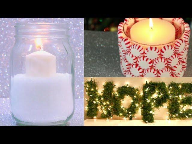 $5 DIY Winter Room Decorations!