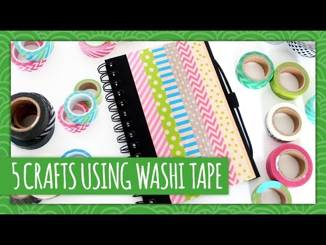 5 Easy Washi Tape Crafts - Weekly Recap - HGTV Handmade