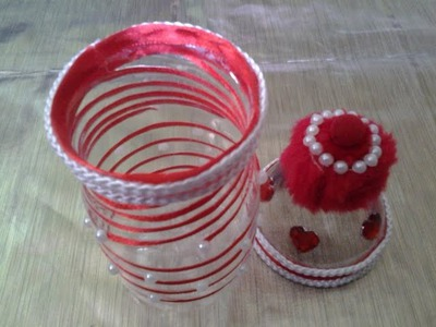 Best Out Of Waste Bisleri Bottle transformed  to Chocolate Gift Container