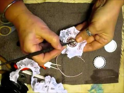 Bottlecap Flower Tutorial & Chat - jennings644