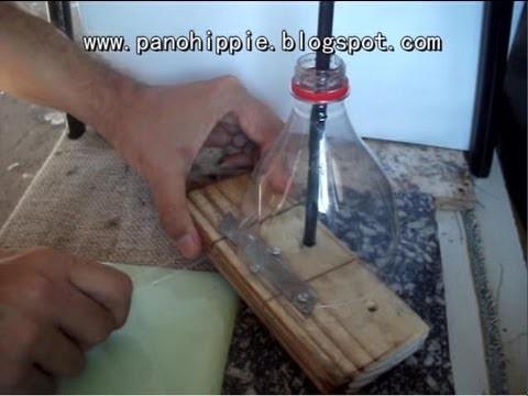 Como fazer um filetador para garrafa pet