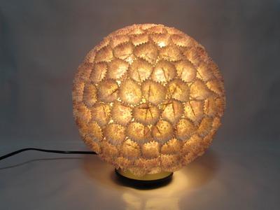 Como hacer una lámpara de diseño. Design lamp.