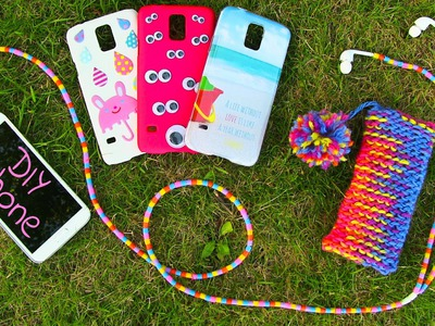 DIY 10 Easy Phone Projects. DIY Phone (Case, Pouch & More)