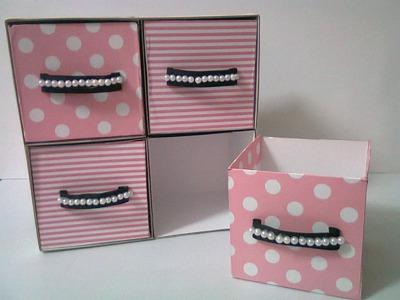DIY : #15 Cute Mini Drawer ♥