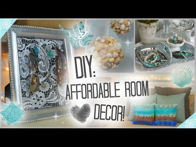 DIY: Affordable & Adorable Room Decor ♡