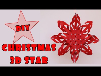 DIY christmas crafts   - Christmas 3D star