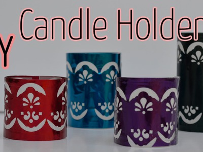 DIY Crafts : Candle holder