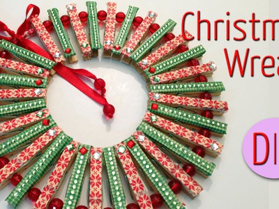 DIY Crafts | Christmas Wreath .Christmas  crafts ideas