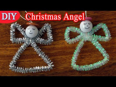 DIY Crafts for Christmas - Christmas angel - Easy !