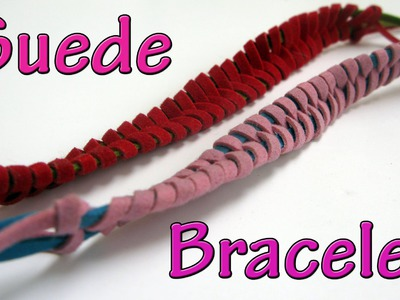 DIY crafts : Suede Bracelet