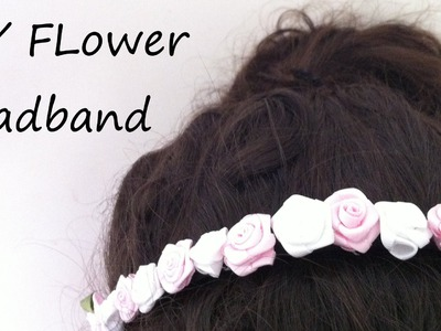 DIY Flower Headband Tutorial
