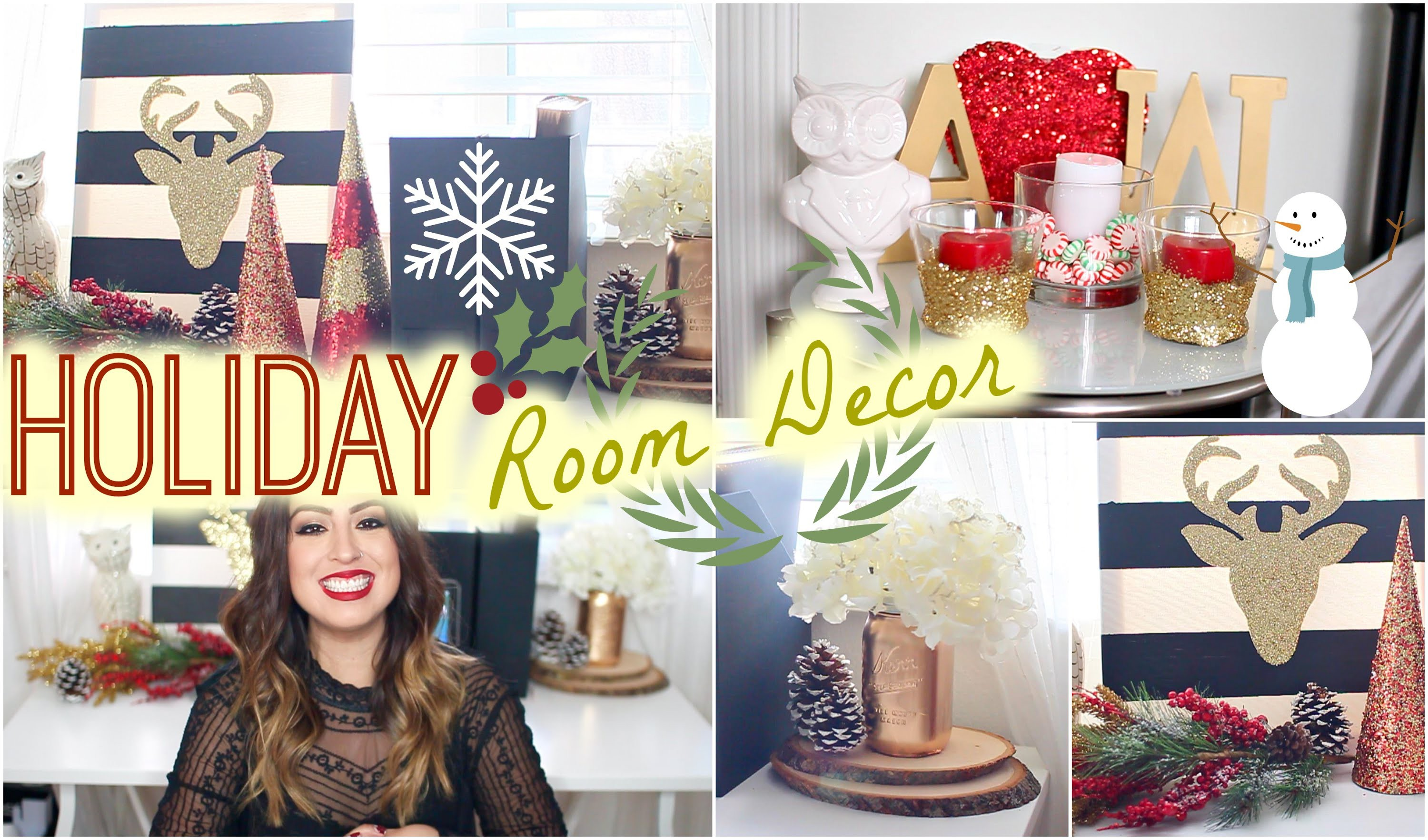 DIY Holiday Bedroom Decor: Easy & Festive