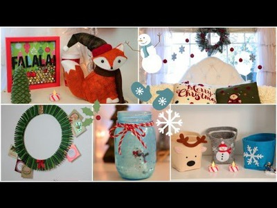 DIY Holiday room Decorations + Easy ways to decorate.organize!