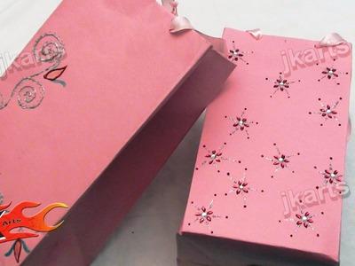 DIY How to make Paper Bag - Style 3 - JK Arts 129
