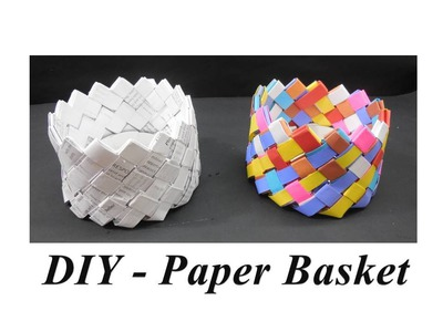 DIY - How to make Paper Basket