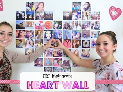 DIY Instagram Heart Wall | Valentine's Day Ideas