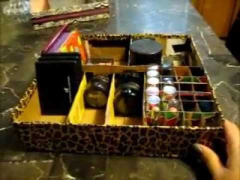 D.I.Y. MAKEUP CADDY~BOX
