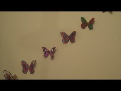 DIY : Milk jug Butterflies