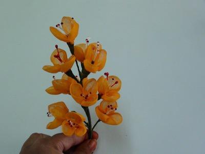 Diy Organdy Flower Bouquet