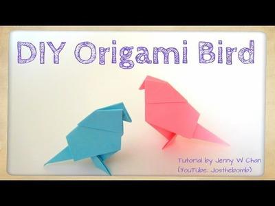 DIY Origami Bird Tutorial - Paper Crafts - Easter Crafts - Kids - Easy