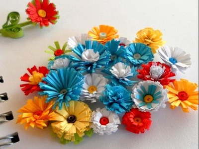 DIY Paper Crafts :: How to make paper FLOWERS - Innovative Arts