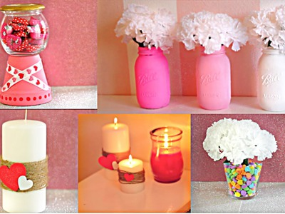 DIY Room Decor For Valentine's Day! Under $10!