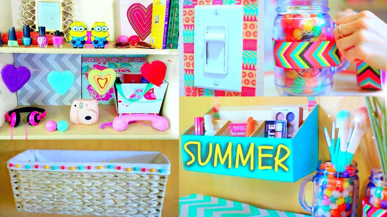 DIY Room Decor   Tumblr Room Makeover!