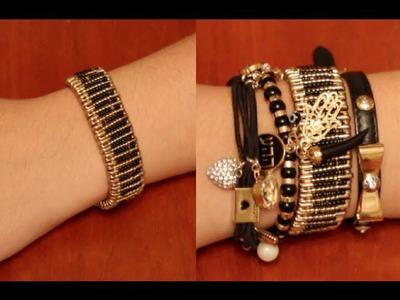 DIY: Safety Pin Bracelet!