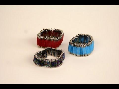 DIY: Safety Pin Bracelet | ShowMeCute