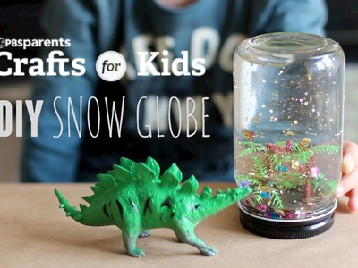DIY Snow Globe | Crafts for Kids | PBS Parents