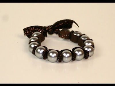 DIY: Stretchy Pearl Bracelet | ShowMeCute