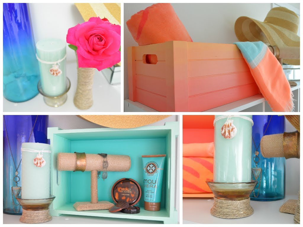DIY Summer Room Decor Ideas