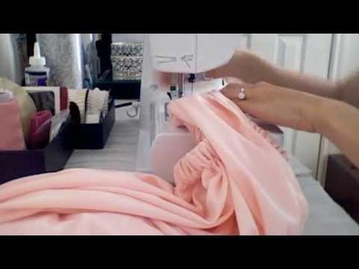 DIY Tutorial: How To Make A Maxi Skirt