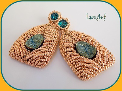 "DIY TUTORIAL: orecchini ""Aramis"" 