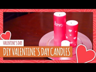 DIY Valentine's Day Candles - HGTV Handmade