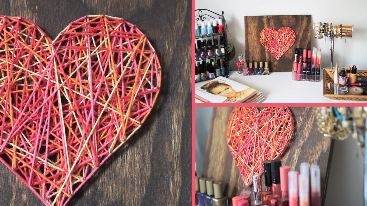 DIY: Valentine's Day Room Decor.Gift Idea