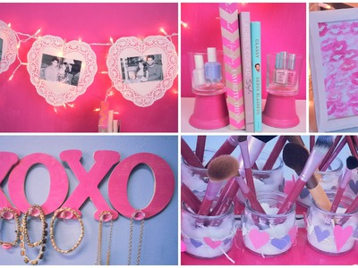 ♥Dormspiration- 7 Easy DIY Valentine's Day Décor! ♥