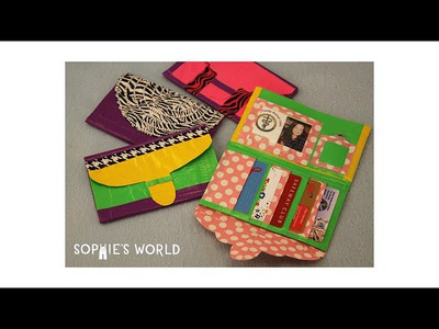 Duct Tape Ladies Wallet|Sophie's World