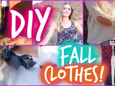 Easy DIY Fall Clothes Inspired by Tumblr! | Aspyn Ovard