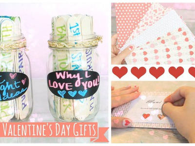 Easy DIY Valentine's Day Gifts! | MissTiffanyMa