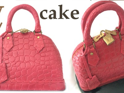 HAND BAG CAKE How To Cook That Ann Reardon Louis Vuitton