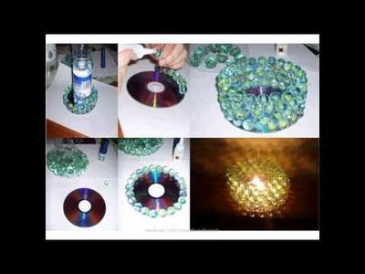 Handmade Crafts Using Waste Materials
