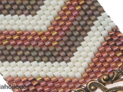 How to Flat Odd-Count Peyote Stitch
