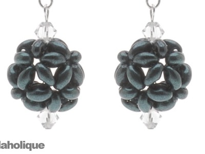 How to Make a Beaded Bead Using Twin Beads
