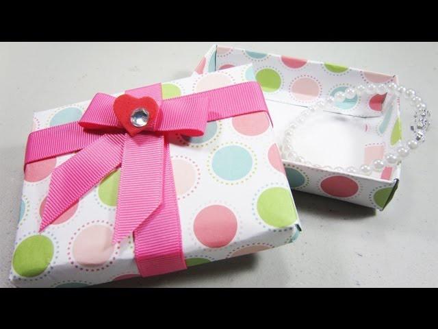 How to make a cute gift box - EP