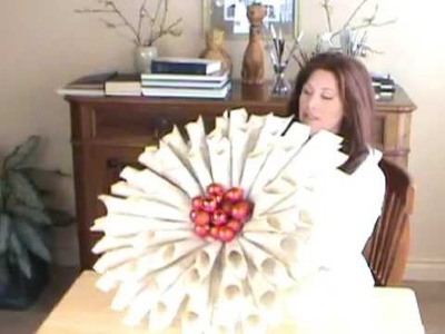 How to Make a Door Wreath from Antique Books