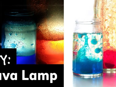 How to Make a Homemade Lava Lamp