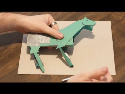How to Make a Paper Horse : Paper Crafts