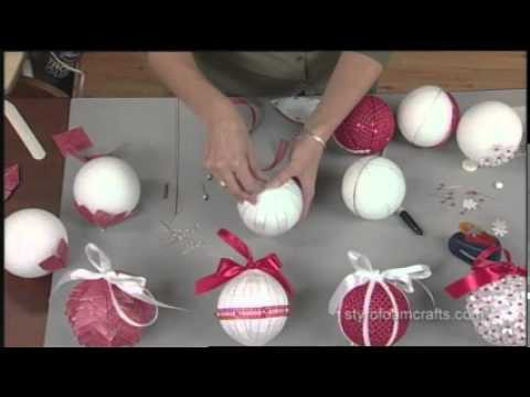 How to Make Five Ornaments in Five Minutes